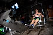 7 June 2020; Irish Olympic rower Philip Doyle during a training session at his home in Banbridge, Down, while adhering to the guidelines of social distancing. Following directives from the Irish and British Governments, the majority of sporting associations have suspended all organised sporting activity in an effort to contain the spread of the Coronavirus (COVID-19) pandemic. Photo by Ramsey Cardy/Sportsfile
