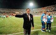 21 June 1990; FAI President Fran Fields after the FIFA World Cup 1990 Group F match between Republic of Ireland and Netherlands at Stadio La Favorita in Palermo, Italy. Photo by Ray McManus/Sportsfile