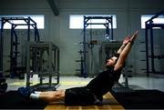 19 June 2020; Diver Oliver Dingley during a training session at the Sport Ireland Campus in Dublin. Athletes have been approved for return of restricted training under Athletics Ireland and the Irish Government's Roadmap for Reopening of Society and Business following strict protocols of social distancing and hand sanitisation among other measures allowing it to return in a phased manner, having been suspended since March due to the Irish Government's efforts to contain the spread of the Coronavirus (COVID-19) pandemic. Photo by Stephen McCarthy/Sportsfile