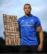 21 June 2020; Leinster rugby player Adam Byrne in Blackrock, Dublin. To The New Generation is a series of portraits of Black athletes in Ireland, representing their communities and families, and in some instances Ireland, in a variety of sports, including athletics, basketball, GAA, rugby and soccer. Their stories reflect a contemporary and multicultural Ireland and Ireland's place in the world, moving more and more from an emigrant nation to an immigrant nation offering hope and a life to many people from beyond our shores. Photo by Ramsey Cardy/Sportsfile