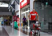 22 June 2020; Monaleen GAA player Daniel Power shopping in SuperValu castletroy on behalf of The Sisters of the Little Company of Mary in Milford, Limerick. GAA clubs nationwide help out their local communities during restrictions imposed by the Irish Government in an effort to contain the spread of the Coronavirus (COVID-19) pandemic. GAA facilities reopened on Monday June 8 for the first time since March 25 with club matches provisionally due to start on July 31 and intercounty matches due to to take place no sooner that October 17. Photo by Eóin Noonan/Sportsfile