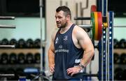 22 June 2020; Cian Healy during a Leinster rugby gym session at UCD in Dublin. Rugby teams have been approved for return of restricted training under IRFU and the Irish Government's Roadmap for Reopening of Society and Business following strict protocols of social distancing and hand sanitisation among other measures allowing it to return in a phased manner, having been suspended since March due to the Irish Government's efforts to contain the spread of the Coronavirus (COVID-19) pandemic. Photo by Conor Sharkey  for Leinster Rugby via Sportsfile
