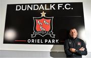 23 June 2020; Newly appointed assistant manager Alan Reynolds poses for a portrait ahead of a Dundalk training session at Oriel Park in Dundalk, Louth. Following approval from the Football Association of Ireland and the Irish Government, the four European qualified SSE Airtricity League teams resumed collective training. On March 12, the FAI announced the cessation of all football under their jurisdiction upon directives from the Irish Government, the Department of Health and UEFA, due to the outbreak of the Coronavirus (COVID-19) pandemic. Photo by Ben McShane/Sportsfile