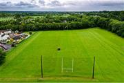23 June 2020; Groundsman Mick Kelly prepares the pitch at Daniel Graham Memorial Park in Ardclough GAA, Kildare. Following restrictions imposed by the Irish Government and the Health Service Executive in an effort to contain the spread of the Coronavirus (COVID-19) pandemic, all GAA facilities closed on March 25. Pitches are due to fully open to club members for training on June 24, and club matches provisionally due to start on July 31 with intercounty matches due to to take place no sooner that October 17. Photo by Piaras Ó Mídheach/Sportsfile
