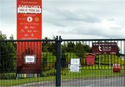 24 June 2020; A general view of the Tyrone GAA Centre of Excellence in Garvaghy, Tyrone. Following approval from the GAA and the Irish Government, the GAA released its safe return to play protocols, allowing pitches to be opened for non contact training on 24 June and for training and challenge games to resume from 29 June. On March 25, the GAA announced the cessation of all GAA activities and closures of all GAA facilities under their jurisdiction upon directives from the Irish Government in an effort to contain the Coronavirus (COVID-19) pandemic. Photo by Oliver McVeigh/Sportsfile