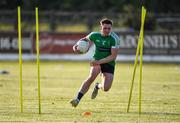 24 June 2020; Adam Tyrell during a Moorefield Senior Football Squad training session at Moorefield GAA club in Newbridge, Kildare. Following approval from the GAA and the Irish Government, the GAA released its safe return to play protocols, allowing pitches to be opened for non contact training on 24 June and for training and challenge games to resume from 29 June. On March 25, the GAA announced the cessation of all GAA activities and closures of all GAA facilities under their jurisdiction upon directives from the Irish Government in an effort to contain the Coronavirus (COVID-19) pandemic. Photo by Piaras Ó Mídheach/Sportsfile