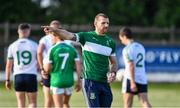 24 June 2020; Manager Ronan Sweeney during a Moorefield Senior Football Squad training session at Moorefield GAA club in Newbridge, Kildare. Following approval from the GAA and the Irish Government, the GAA released its safe return to play protocols, allowing pitches to be opened for non contact training on 24 June and for training and challenge games to resume from 29 June. On March 25, the GAA announced the cessation of all GAA activities and closures of all GAA facilities under their jurisdiction upon directives from the Irish Government in an effort to contain the Coronavirus (COVID-19) pandemic. Photo by Piaras Ó Mídheach/Sportsfile