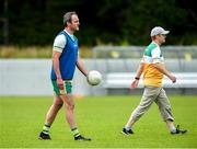 25 June 2020; Michael Murphy, left, during a Glenswilly GAA Club training session at Glenkerragh in Donegal. Following approval from the GAA and the Irish Government, the GAA released its safe return to play protocols, allowing pitches to be opened for non contact training on 24 June and for training and challenge games to resume from 29 June. On March 25, the GAA announced the cessation of all GAA activities and closures of all GAA facilities under their jurisdiction upon directives from the Irish Government in an effort to contain the Coronavirus (COVID-19) pandemic. Photo by Oliver McVeigh/Sportsfile