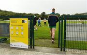 25 June 2020; A general view during a Glenswilly GAA Club training session at Glenkerragh in Donegal. Following approval from the GAA and the Irish Government, the GAA released its safe return to play protocols, allowing pitches to be opened for non contact training on 24 June and for training and challenge games to resume from 29 June. On March 25, the GAA announced the cessation of all GAA activities and closures of all GAA facilities under their jurisdiction upon directives from the Irish Government in an effort to contain the Coronavirus (COVID-19) pandemic. Photo by Oliver McVeigh/Sportsfile