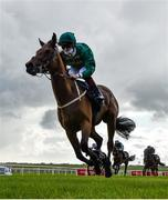 27 June 2020; Frenetic, with Colin Keane up, on their way to winning the GAIN First Flier Stakes during day two of the Dubai Duty Free Irish Derby Festival at The Curragh Racecourse in Kildare. Horse Racing continues behind closed doors following strict protocols having been suspended from March 25 due to the Irish Government's efforts to contain the spread of the Coronavirus (COVID-19) pandemic. Photo by Seb Daly/Sportsfile