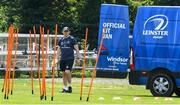 29 June 2020; Backs coach Felipe Contepomi during Leinster rugby squad training at UCD in Dublin. Rugby teams have been approved for return of restricted training under IRFU and the Irish Government's Roadmap for Reopening of Society and Business following strict protocols allowing it to return in a phased manner, having been suspended since March due to the Irish Government's efforts to contain the spread of the Coronavirus (COVID-19) pandemic. Photo by Marcus Ó Buachalla for Leinster Rugby via Sportsfile