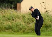 29 June 2020; Olivia Mehaffey pitches onto the second green during the Flogas Irish Scratch Series at the Seapoint Golf Club in Termonfeckin, Louth. Photo by Matt Browne/Sportsfile