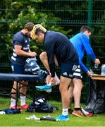 29 June 2020; Jimmy O'Brien during Leinster rugby squad training at UCD in Dublin. Rugby teams have been approved for return of restricted training under IRFU and the Irish Government's Roadmap for Reopening of Society and Business following strict protocols allowing it to return in a phased manner, having been suspended since March due to the Irish Government's efforts to contain the spread of the Coronavirus (COVID-19) pandemic. Photo by Marcus Ó Buachalla for Leinster Rugby via Sportsfile