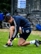 29 June 2020; Ross Byrne during Leinster rugby squad training at UCD in Dublin. Rugby teams have been approved for return of restricted training under IRFU and the Irish Government's Roadmap for Reopening of Society and Business following strict protocols allowing it to return in a phased manner, having been suspended since March due to the Irish Government's efforts to contain the spread of the Coronavirus (COVID-19) pandemic. Photo by Marcus Ó Buachalla for Leinster Rugby via Sportsfile