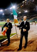 30 June 1990; Republic of Ireland manager Jack Charlton and assistamt manager Maurice Setters, left, after the FIFA World Cup 1990 Quarter-Final match between Italy and Republic of Ireland at the Stadio Olimpico in Rome, Italy. Photo by Ray McManus/Sportsfile