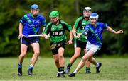 30 June 2020; Action from the Junior B Hurling Challenge game between St Sylvester's and St Patrick's Donabate at Malahide Castle Pitches in Dublin. Photo by Piaras Ó Mídheach/Sportsfile