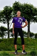1 July 2020; Irish International athlete, Nadia Power, in attendance at the launch of the Irish Life Health Mile Challenge at Santry Park in Dublin. The weeklong challenge to find out the fittest and most active club and county starts on 17th August. This marks the 35th anniversary of Ireland's top milers setting a 4x1-mile relay world record. Finishing on 23rd of August when Ireland's top athletes will also take to the track to compete for national titles at the Irish Life Health Track and Field Championships. Photo by Sam Barnes/Sportsfile