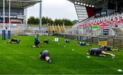2 July 2020; A general view during Ulster Rugby squad training at Kingspan Stadium in Belfast. Photo by Robyn McMurray for Ulster Rugby via Sportsfile