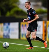 3 July 2020; Daniel Kelly during a Dundalk training match at Oriel Park in Dundalk, Louth. Photo by Ben McShane/Sportsfile