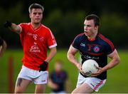 9 July 2020; Conor Doran of Clontarf during the Senior Football Club Challenge match between Fingallians and Clontarf at Lawless Memorial Park in Swords, Dublin. Photo by Stephen McCarthy/Sportsfile