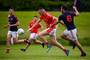 9 July 2020; Oisin Lynch of Fingallians during the Senior Football Club Challenge match between Fingallians and Clontarf at Lawless Memorial Park in Swords, Dublin. Photo by Stephen McCarthy/Sportsfile