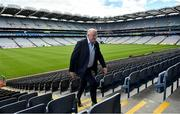10 July 2020; Uachtarán Chumann Lúthchleas Gael John Horan in attendance during the launch of the MyLife GAA Healthy Clubs Steps Challenge at Croke Park in Dublin. Photo by David Fitzgerald/Sportsfile