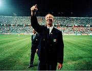 21 June 1990; Republic of Ireland manager Jack Charlton after the FIFA World Cup 1990 Group F match between Republic of Ireland and Netherlands at Stadio La Favorita in Palermo, Italy. Photo by Ray McManus/Sportsfile