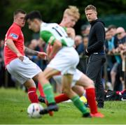 12 July 2020; Shelbourne coach Damien Duff during the U17 Club Friendly match between Shelbourne and Bray Wanderers at AUL Complex in Clonsaugh, Dublin. Photo by Stephen McCarthy/Sportsfile