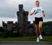 13 July 2020; Olympian Lizzie Lee, who was on hand today to launch the KBC Virtual Dublin Marathon which takes place over the October Bank Holiday weekend (24th – 26th October). There are also options to sign up for the KBC Virtual Race Series distances; 4 Mile, 10km and Half Marathon. For more details log onto kbcdublinmarathon.ie #RunYourTown. Photo by Ramsey Cardy/Sportsfile