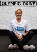 13 July 2020; Irish International athlete Ann-Marie McGlynn, who was on hand to launch the KBC Virtual Dublin Marathon which takes place over the October Bank Holiday weekend (24th – 26th October). There are also options to sign up the KBC Virtual Race Series distances; 4 Mile, 10km and Half Marathon. For more details log onto kbcdublinmarathon.ie #RunYourTown. Photo by Ramsey Cardy/Sportsfile