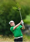 13 July 2020; Chris Black plays from the rough on the 14th hole during the Flogas Irish Scratch Series at The K Club in Straffan, Kildare. Photo by Ramsey Cardy/Sportsfile