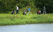 13 July 2020; Golfers during the Flogas Irish Scratch Series at The K Club in Straffan, Kildare. Photo by Ramsey Cardy/Sportsfile