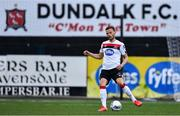 14 July 2020; Andy Boyle of Dundalk during a Club Friendly between Dundalk and Bohemians at Oriel Park in Dundalk, Louth. Photo by Ben McShane/Sportsfile