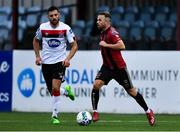 14 July 2020; Keith Ward of Bohemians and Jordan Flores of Dundalk during a Club Friendly between Dundalk and Bohemians at Oriel Park in Dundalk, Louth. Photo by Ben McShane/Sportsfile