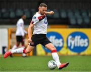 17 July 2020; Andy Boyle of Dundalk during the Club Friendly match between Dundalk and Drogheda United at Oriel Park in Dundalk, Louth. Photo by Eóin Noonan/Sportsfile