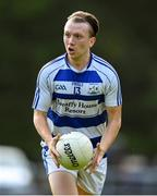 18 July 2020; Tommy O'Reilly of Breaffy during the Michael Walsh Secondary Senior Football League match between Breaffy and Garrymore at Breaffy GAA Club in Mayo. Competitive GAA matches have been approved to return following the guidelines of Phase 3 of the Irish Government's Roadmap for Reopening of Society and Business and protocols set down by the GAA governing authorities. With games having been suspended since March, competitive games can take place with updated protocols including a limit of 200 individuals at any one outdoor event, including players, officials and a limited number of spectators, with social distancing, hand sanitisation and face masks being worn by those in attendance among other measures in an effort to contain the spread of the Coronavirus (COVID-19) pandemic. Photo by Stephen McCarthy/Sportsfile