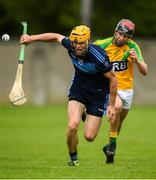 18 July 2020; Shane O'Brien of St Jude's during the Dublin County Senior Hurling Championship Group 3 Round 1 match between Faughs and St Jude's at O'Toole Park in Dublin. Competitive GAA matches have been approved to return following the guidelines of Phase 3 of the Irish Government's Roadmap for Reopening of Society and Business and protocols set down by the GAA governing authorities. With games having been suspended since March, competitive games can take place with updated protocols including a limit of 200 individuals at any one outdoor event, including players, officials and a limited number of spectators, with social distancing, hand sanitisation and face masks being worn by those in attendance among other measures in an effort to contain the spread of the Coronavirus (COVID-19) pandemic. Photo by David Fitzgerald/Sportsfile