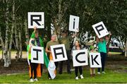 21 July 2020; Republic of Ireland supporters gather at the Walkinstown Roundabout in Dublin as a mark of respect to the passing of former Republic of Ireland manager Jack Charlton, who lead the Republic of Ireland team to their first major finals at UEFA Euro 1988, and subsequently the FIFA World Cup 1990, in Italy, and the FIFA World Cup 1994, in USA.  Photo by Seb Daly/Sportsfile