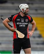 17 July 2020; Martin Óg Storey of Oulart the Ballagh during the Wexford County Senior Hurling Championship Group A Round 1 match between Oulart the Ballagh and St Martin's at Chadwicks Wexford Park in Wexford. Competitive GAA matches have been approved to return following the guidelines of Phase 3 of the Irish Government's Roadmap for Reopening of Society and Business and protocols set down by the GAA governing authorities. With games having been suspended since March, competitive games can take place with updated protocols including a limit of 200 individuals at any one outdoor event, including players, officials and a limited number of spectators, with social distancing, hand sanitisation and face masks being worn by those in attendance among other measures in an effort to contain the spread of the Coronavirus (COVID-19) pandemic. Photo by Brendan Moran/Sportsfile