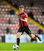 24 July 2020; JJ Lunney of Bohemians during the club friendly match between Bohemians and Longford Town at Dalymount Park in Dublin. Soccer matches continue to take place in front of a limited number of people in an effort to contain the spread of the coronavirus (Covid-19) pandemic. Photo by Ramsey Cardy/Sportsfile