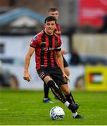 24 July 2020; Keith Buckley of Bohemians during the club friendly match between Bohemians and Longford Town at Dalymount Park in Dublin. Soccer matches continue to take place in front of a limited number of people in an effort to contain the spread of the coronavirus (Covid-19) pandemic. Photo by Ramsey Cardy/Sportsfile