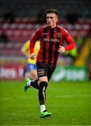 24 July 2020; Danny Grant of Bohemians during the club friendly match between Bohemians and Longford Town at Dalymount Park in Dublin. Soccer matches continue to take place in front of a limited number of people in an effort to contain the spread of the coronavirus (Covid-19) pandemic. Photo by Ramsey Cardy/Sportsfile