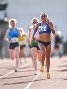 25 July 2020; Nadia Power of Dublin City Harriers AC on her way to winning the Senior Ladies 800m event during the Summer Games Athletics Meet at Moyne AC in Tipperary. Photo by Piaras Ó Mídheach/Sportsfile