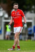 25 July 2020; Jack McCaffrey of Clontarf during the Dublin County Senior Football Championship Round 1 match between Ballyboden St Endas and Clontarf at Pairc Uí Mhurchu in Dublin. GAA matches continue to take place in front of a limited number of people in an effort to contain the spread of the Coronavirus (COVID-19) pandemic. Photo by David Fitzgerald/Sportsfile