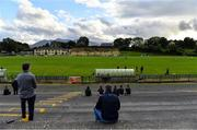 25 July 2020; Supporters look on while adhering to social distancing during the Kerry County Senior Club Football Championship Group 2 Round 1 match between Kilcummin and Killarney Legion at Lewis Road in Killarney, Kerry. GAA matches continue to take place in front of a limited number of people in an effort to contain the spread of the Coronavirus (COVID-19) pandemic. Photo by Brendan Moran/Sportsfile