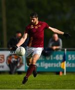 25 July 2020; Bernard Brogan of St Oliver Plunkett Eoghan Ruadh kicks a point during the Dublin County Senior Football Championship Round 1 match between Castleknock and St Oliver Plunkett Eoghan Ruadh at Somerton Park in Castleknock, Dublin. GAA matches continue to take place in front of a limited number of people in an effort to contain the spread of the Coronavirus (COVID-19) pandemic. Photo by Seb Daly/Sportsfile