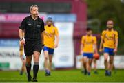 26 July 2020; Referee Shane Hynes following the Galway County Senior Club Hurling Championship Group 3 Round 1 match between Sarsfields and Portumna at Kenny Park in Athenry, Galway. GAA matches continue to take place in front of a limited number of people in an effort to contain the spread of the Coronavirus (COVID-19) pandemic. Photo by David Fitzgerald/Sportsfile