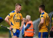 26 July 2020; Joe, left, and Jack Canning after they were both sent off during the Galway County Senior Club Hurling Championship Group 3 Round 1 match between Sarsfields and Portumna at Kenny Park in Athenry, Galway. GAA matches continue to take place in front of a limited number of people in an effort to contain the spread of the Coronavirus (COVID-19) pandemic. Photo by David Fitzgerald/Sportsfile