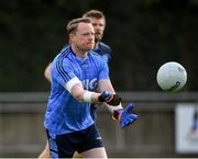 25 July 2020; Paul Copeland of St Judes during the Dublin County Senior Football Championship Round 1 match between St Judes and Na Fianna at Parnell Park in Dublin. GAA matches continue to take place in front of a limited number of people in an effort to contain the spread of the Coronavirus (COVID-19) pandemic. Photo by Matt Browne/Sportsfile