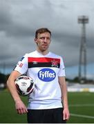 29 July 2020; David McMillan at Oriel Park in Dundalk after signing for Dundalk FC. Photo by David Fitzgerald/Sportsfile